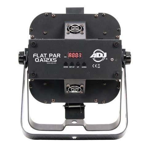 Tv Led Low Watt american dj flat par qa12xs 12x5 watt rgba led slim par fixture limited quanities