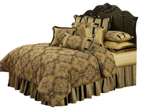 victorian comforter sets king austin horn classics ravel 4 piece bedding collection