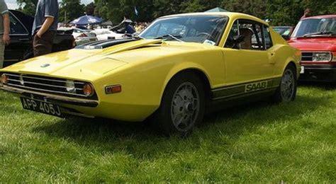 yellow saab sports car picture jpg