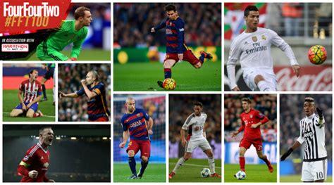 100 mejores jugadores del mundo 2015 jugadores de futbol los 100 mejores jugadores de f 250 tbol del mundo en 2015