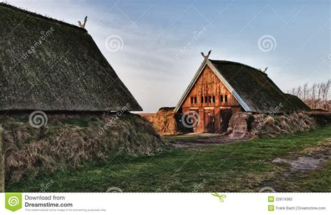 Longhouse Floor Plans Traditional Old Viking Age House Stock Photo Image 22874382