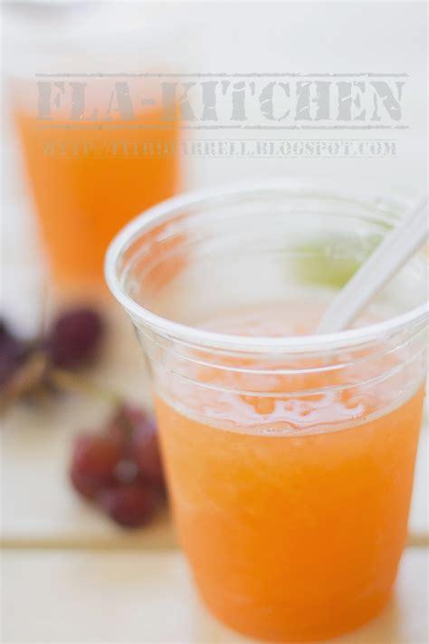 fla kitchen es blewah cantaloupe drinks
