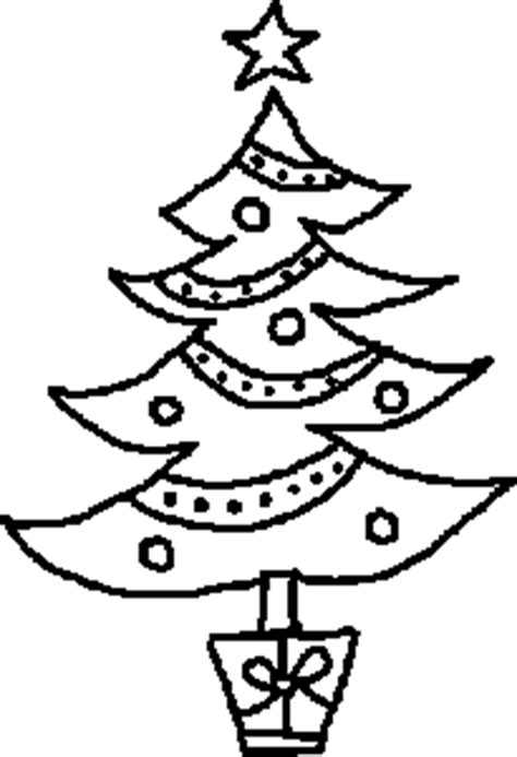 printable black and white christmas tree christmas tree outline clipart best