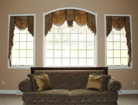 Diy arched window treatments ideas home interiorshome interiors