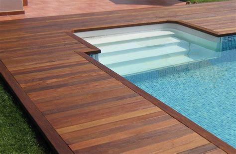 Inground Pool Decks Inground Pool Deck Designs Pool Design Ideas