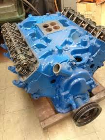 1966 ford 352 fe complete engine all new parts ebay