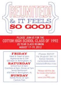 class reunion invitations on family reunion invitations class reunion favors and