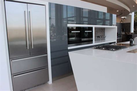 ex display kitchen island 50 off rrp 163 60 000 porcelanosa ex display anthracite and