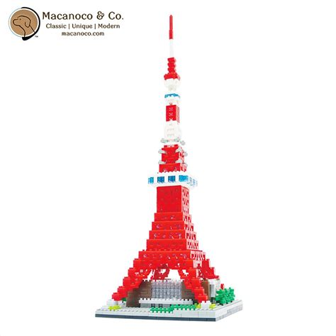 Nanoblock Tokyo Tower 2 nanoblock japanese collection series tokyo tower deluxe
