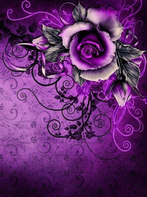 love  range  purples  textures
