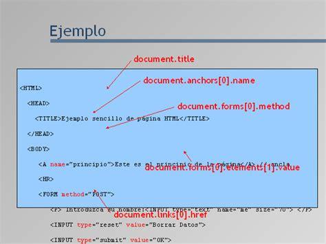 manejo de cadenas con javascript programaci 243 n en p 225 ginas web javascript monografias