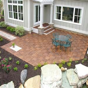 Ready Made Patio by Decking Patio And Tile On Pinterest