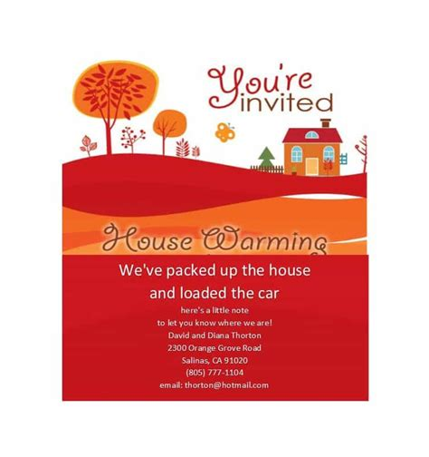 House Blessing Invitation Card Sle
