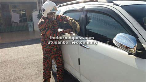 Cermin Pintu Belakang Viva budak terperangkap hir sejam dalam kereta utusan