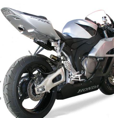hotbodies racing undertail exhaust for honda cbr1000rr 06 07