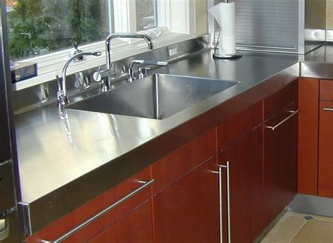 commercial stainless steel sink and countertop stainless steel countertop custom