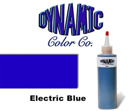 electric blue tattoo electric blue dynamic colors inks worldwide