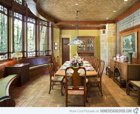 arts and crafts dining room 15 ideas in designing dining rooms with bay window home