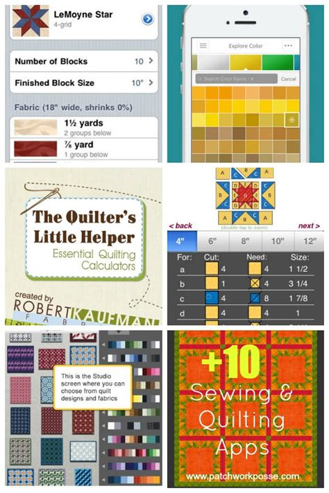 Quilting App sewing and quilting apps