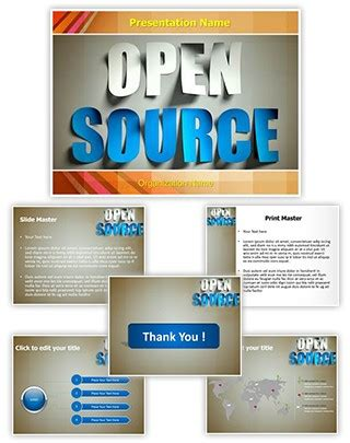 Professional Open Source Editable Powerpoint Template Open Office Powerpoint Templates