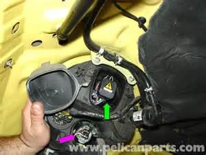 2006 Mini Cooper Headlight Bulb Mini Cooper Lens And Bulb Replacement R50 R52 R53 2001