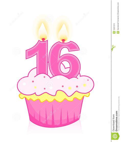 sweet sixteen birthday cake stock photos image 12221313
