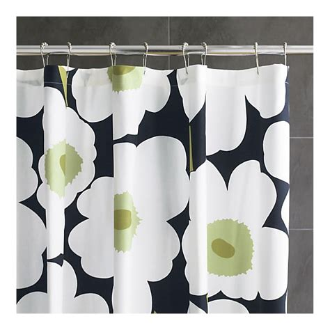 black shower curtain with white flower green black white floral shower curtain on the hunt