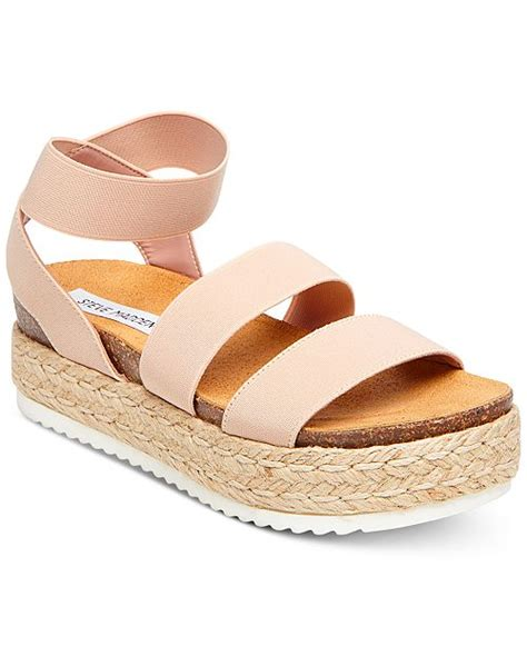 steve madden s kimmie flatform espadrille sandals reviews sandals flip flops shoes