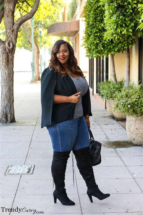 plus size the knee boots the knee trendy curvytrendy curvy
