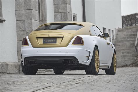 rolls royce gold mansory s rolls royce wraith palm edition 999 is garnished