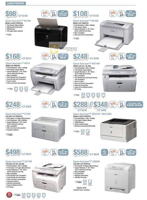 Printer Epson Aculaser C1700 epson printers laser aculaser m1200 m1400 mx14 mx14nf c1700 aculaser m2310d m2310dn