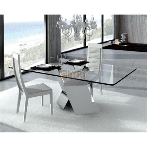 table de salle 224 manger moderne pied m 233 tal en x plateau