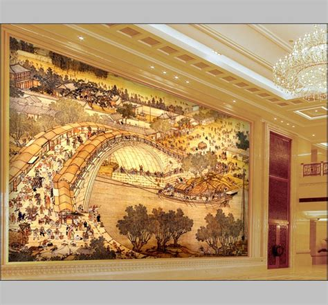 Wallpaper Dinding Luxury Classic Coklat Gold murals luxury gold embossed wallpaper abstrat 3d for hotel living room large photo classic