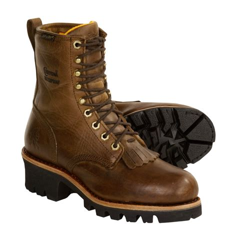 logger boots for chippewa logger work boots for 2167y save 38