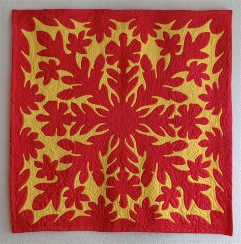 pattern hawaiian quilt 892 best making hawaiian quilt designs images on