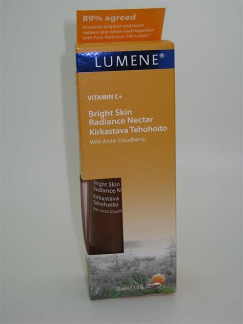 Lumene Vitamin Radiant Dual Serum by Lumene Vitamin C Bright Skin Radiance Nectar Review And