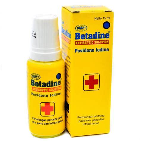 Betadine Alat Botol jual betadine solution 15 ml prosehat