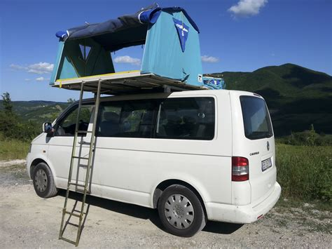 Vw T5 Awning Tent by Vw T5 Overc Tenda Da Tetto Roof Tent Maggiolina