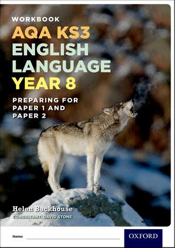 aqa ks3 english language 0198368836 aqa ks3 english language year 8 test workbook pack of 15 oxford university press