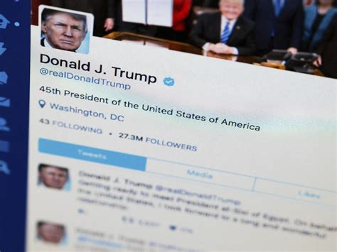 donald trump on twitter donald trump blocking accounts on twitter violates us