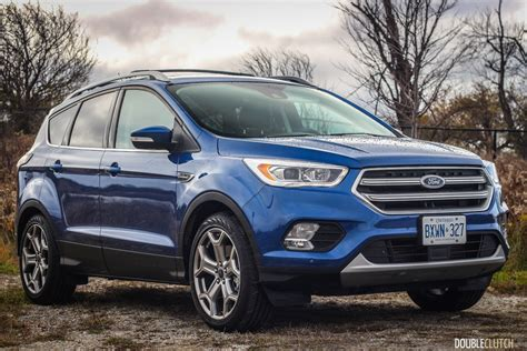 Ford Escape Titanium by 2017 Ford Escape Titanium Awd Review Doubleclutch Ca