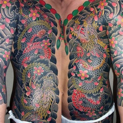 traditional japanese tattoo designs 50 japanese chest tattoos for masculine design ideas
