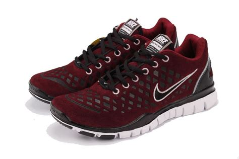 nike maroon shoes nike free tr fit shoes black white maroon