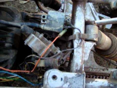 yamaha blaster tors system removal   youtube