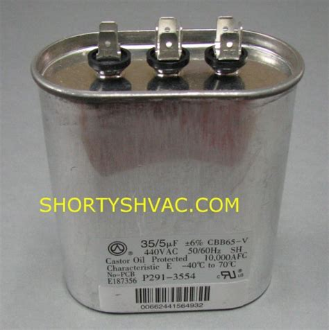 capacitor herm voltage dual capacitor herm 28 images pocd605a oval 60 5 uf mfd 370 volts motor run dual capacitor