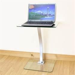 Laptop Office Desk Clear Glass Laptop Notebook Table Desktop Stand Sofa Office Computer Desk Tray Ebay