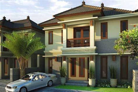 desain depan rumah bertingkat desain rumah minimalis modern 2 lantai tak depan