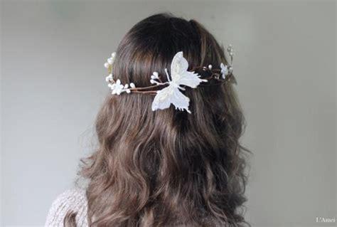 wedding hair accessories green wedding hair accessories mint green butterfly hair