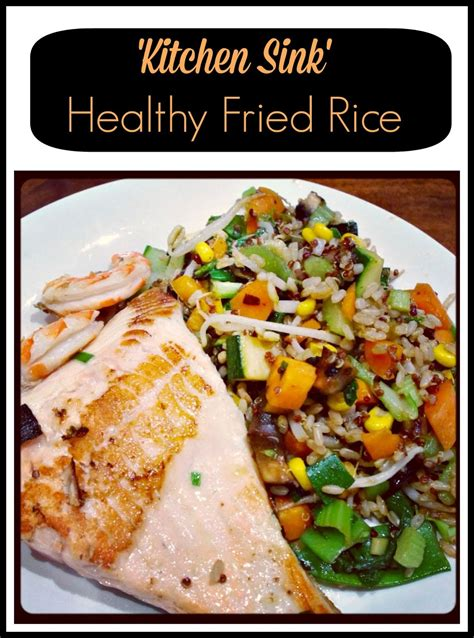 kitchen sink recipes the noatbook recipe kitchen sink healthy fried rice