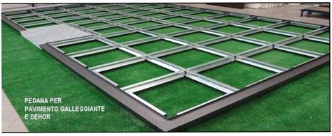 pedana galleggiante pedana modulare acciaio agap 232 forniture